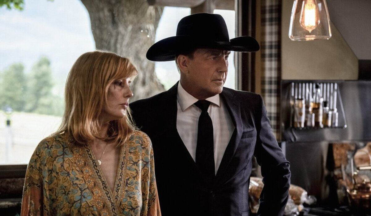 Yellowstone Kelly Reilly Beth Dutton Kevin Costner John Dutton Paramount Network