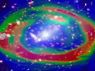 High-Energy X-Rays Detected at Galaxy Cluster