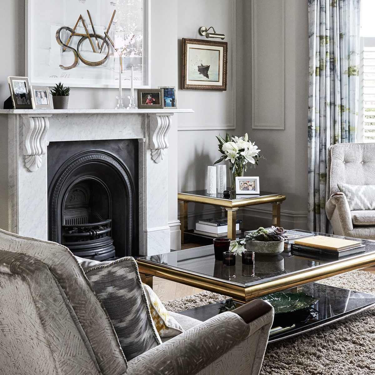 Grey Living Room Ideas Living Room Ideas In Shades Of Grey Homes Gardens Homes Gardensdocument Documenttype