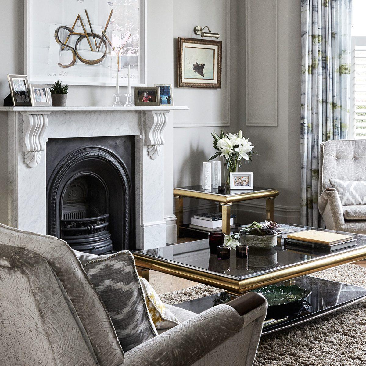 Grey living room ideas – Living room ideas in shades of grey
