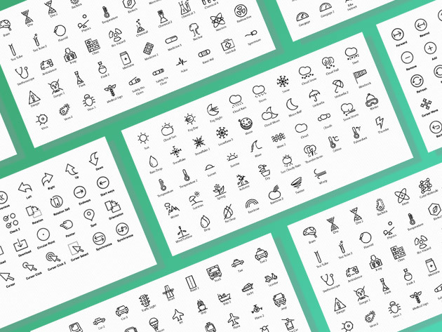 Enhance your design projects with these quality icons