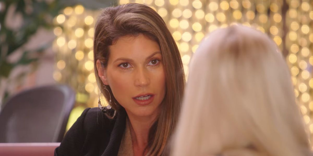 Maya Vander has a conversation on Selling Sunset