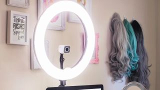 How To Set Up A Ring Light For Remote Teaching