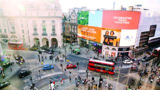 Digital signage in London's Piccadilly Circus