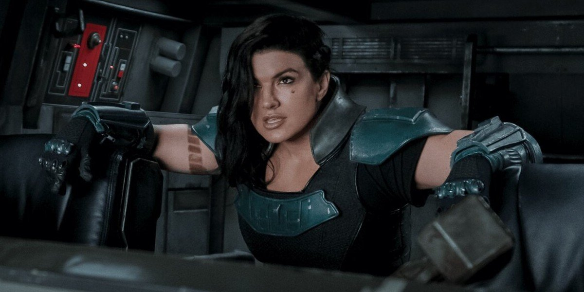 Gina Carano as Cara Dune on The Mandalorian (2021)