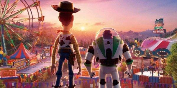 Buzz and Woody at Disneyland