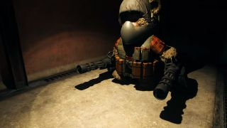Modern Warfare Trench bunker teddy bear Easter egg