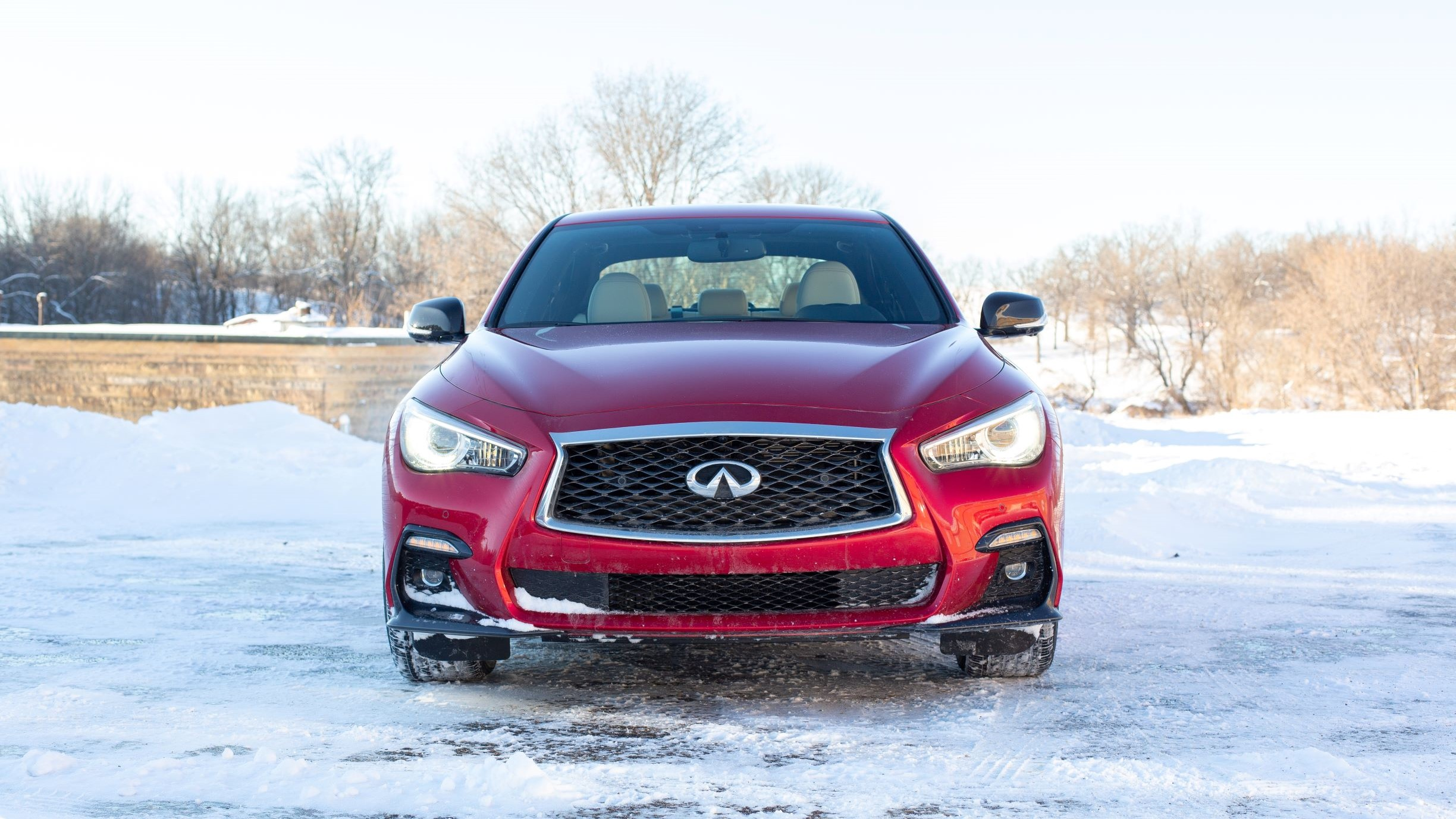 How the snow setting on the 2019 Infiniti Q50 actually works