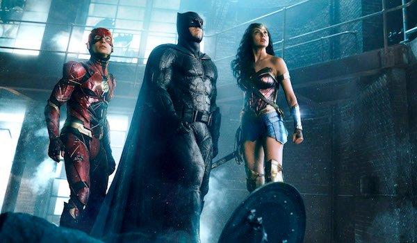 Justice League Batman Wonder Woman and Flash