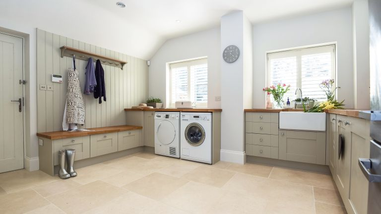 planning and designing a utility room | real homes a Laundry Room