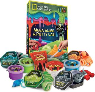 National Geographic Slime and Putty Lab