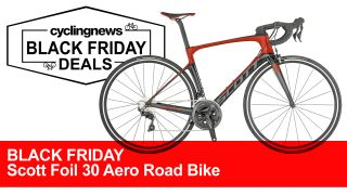 Scott Foil 30 2019 Aero Road Bike Black Friday Deal