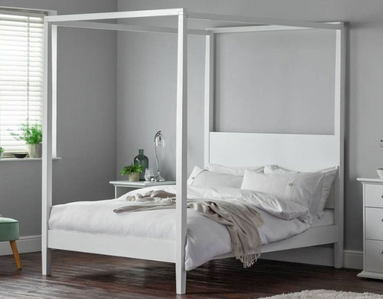 Argos four poster bed