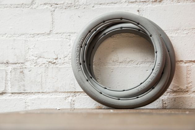 A solid tyre - forget tyre pressure and punctures
