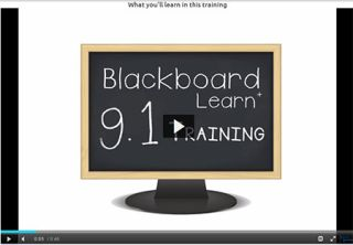 Video Tutorial: Blackboard 9.1 Service Pack 8 – Student Training