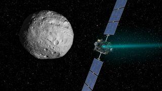 Dawn spacecraft set to leave protoplanet Vesta