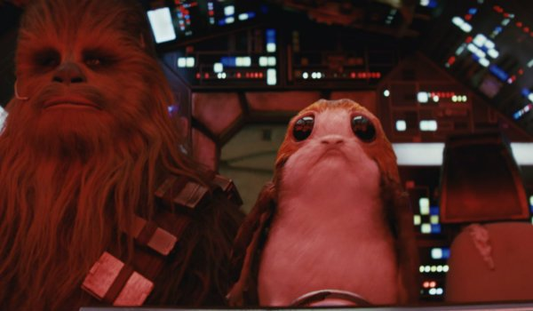 Star Wars The Last Jedi Porg Chewbacca
