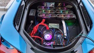 BMW i8 RTX 3080 Mining Rig