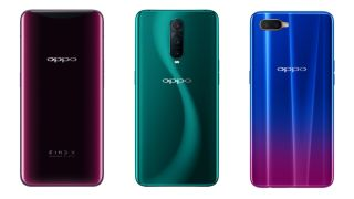 Oppo Find X, RX17 Pro and RX17 Neo