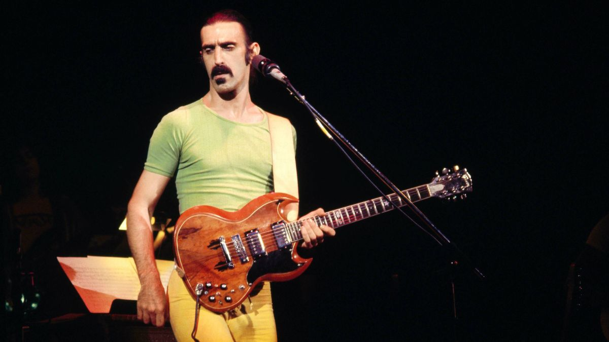 Get a comprehensive look at Frank Zappa's guitars, amps, effects and more in a new book, Zappa Gear