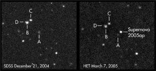 Stellar Explosion Outshines Sun 100 Billion Times