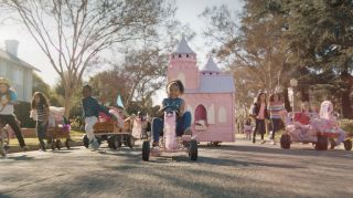 A still from the GoldieBlox advertisement that aired during the Super Bowl on Feb. 2, 2014.
