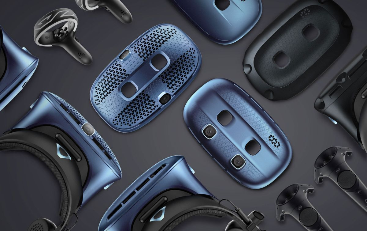 HTC adds three more Vive Cosmos headsets with modular faceplates to its mix