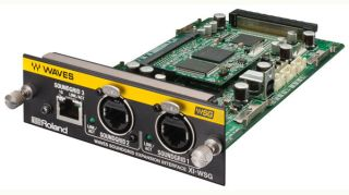Roland Adds XI-WSG Waves SoundGrid Expansion Card for M-5000 Series OHRCA Console Systems