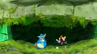 Rayman Origins, played via Remote Play Together.