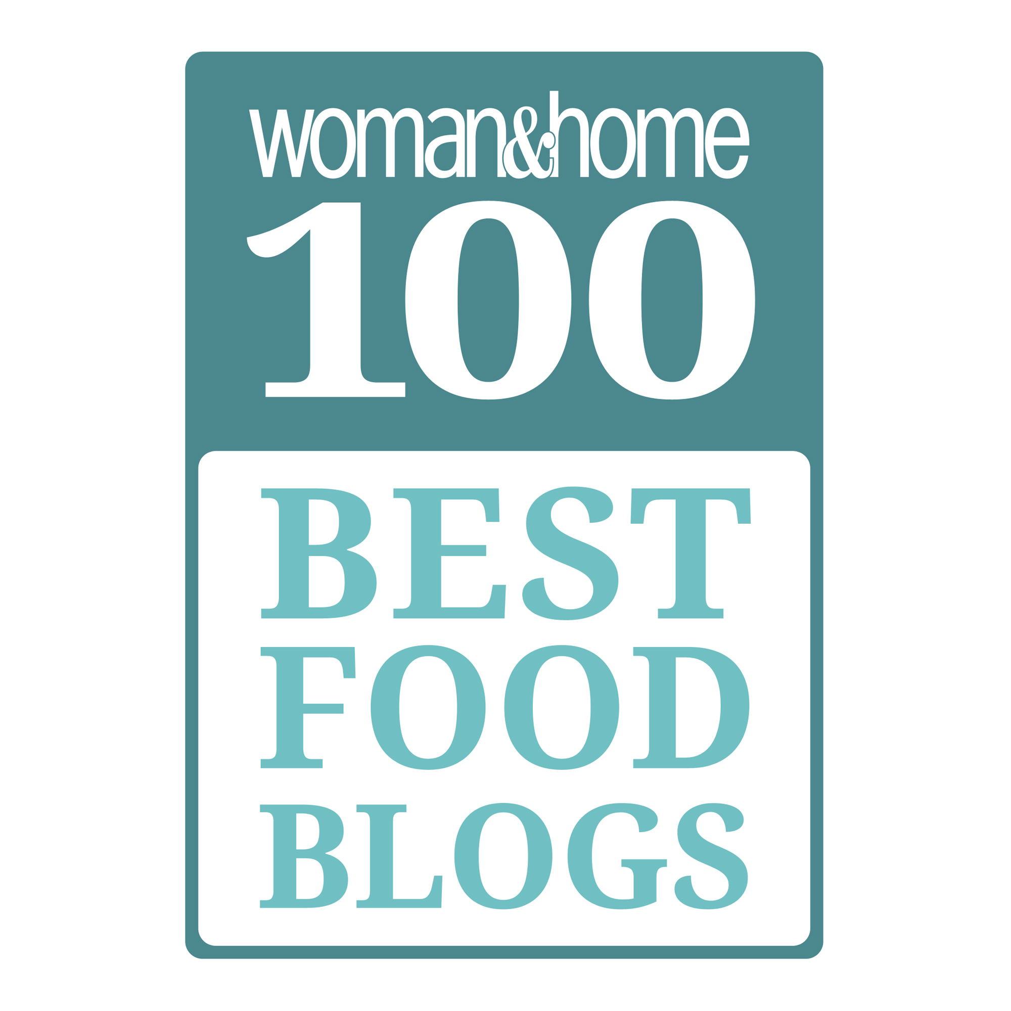 100 Best Food Blogs Logo