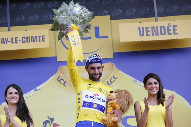 8c6370f7f What is it like to be in the Tour de France yellow jersey for a day ...