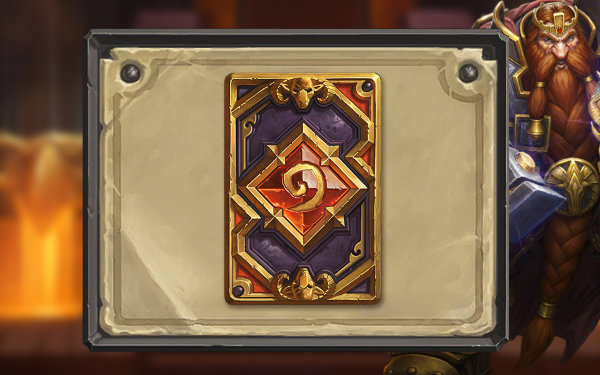 Magni card back for Hearthstone