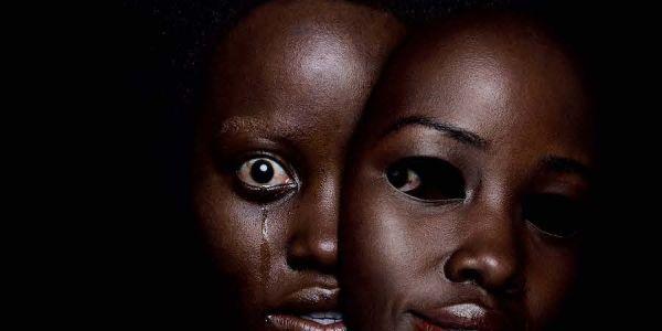 Lupita Nyong'o on Us movie poster
