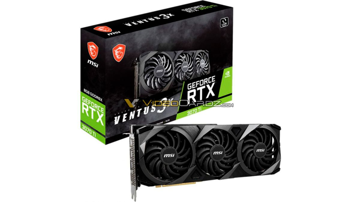 Custom GeForce RTX 3070 Ti GPUs Start At ,800 Overseas