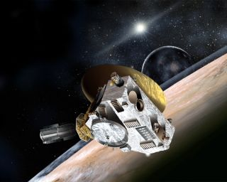 New Horizons Flying by Pluto