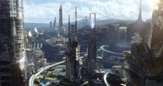 "In ""Tomorrowland,"" Walt Disney's vision of the future gets a 21st-century overhaul from the minds of Brad Bird and George Clooney."