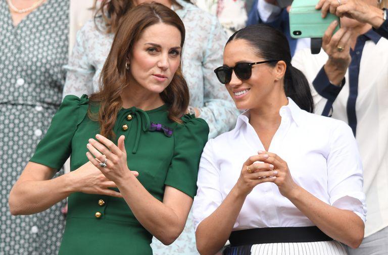 kate middleton appearance alongside meghan markle coolest women