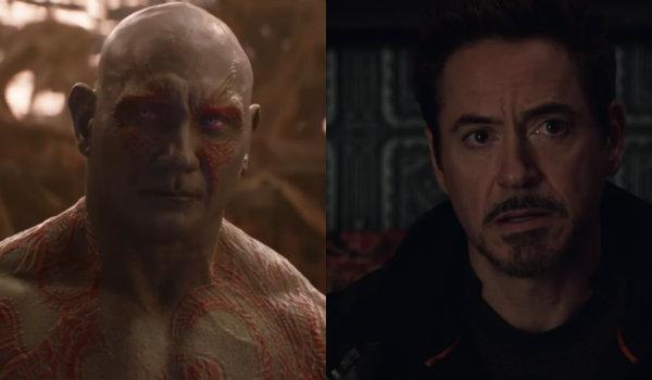 Drax iron man avengers infinity war