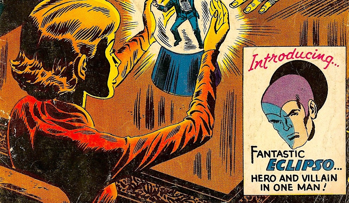 house of mystery #66 comic eclipso introduction
