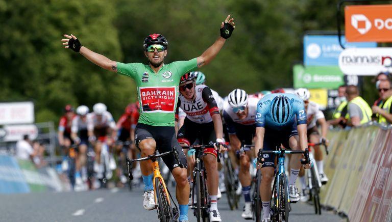 Sonny Colbrelli wins stage three of the Criterium du Dauphine