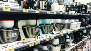 Appliances in Department Store