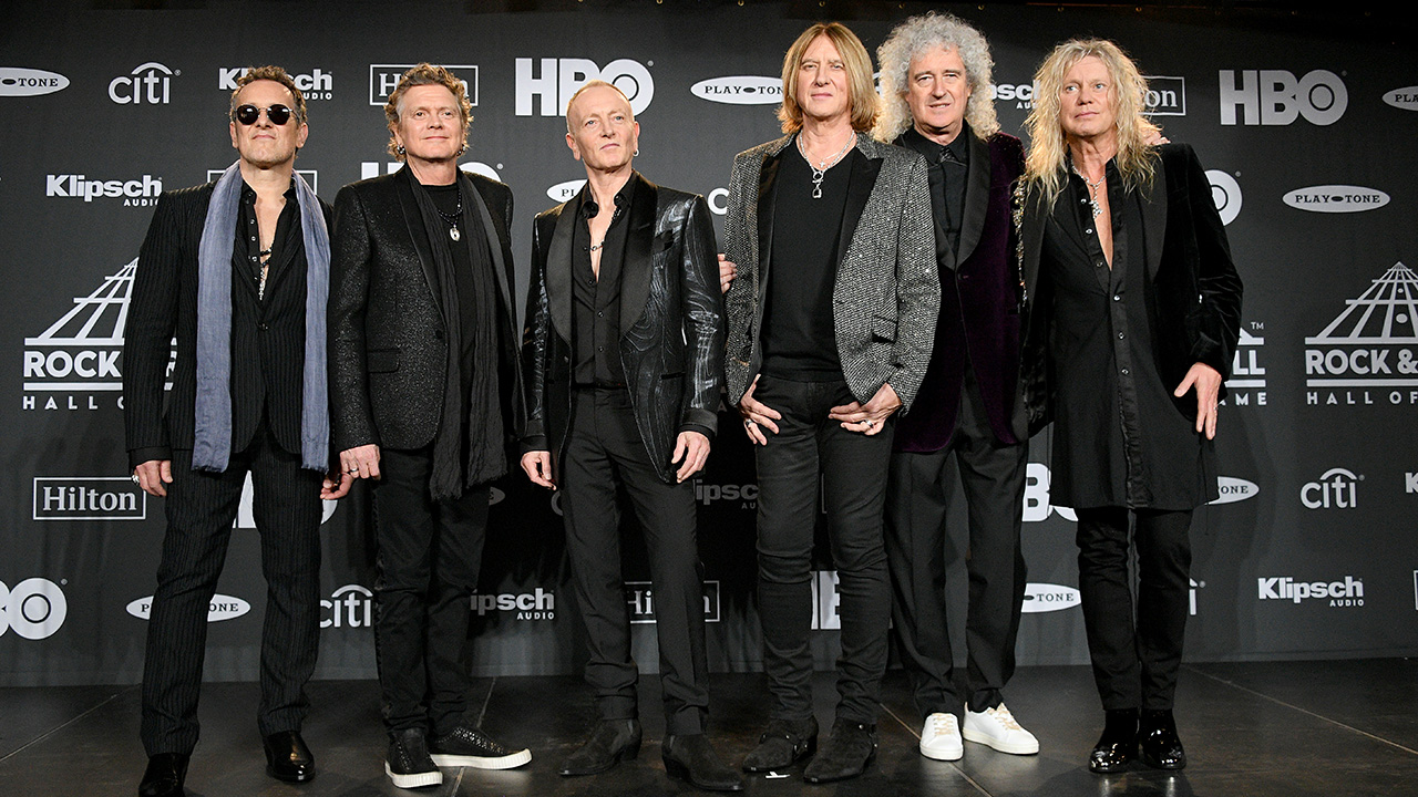 Queen's Brian May: Def Leppard are family to me