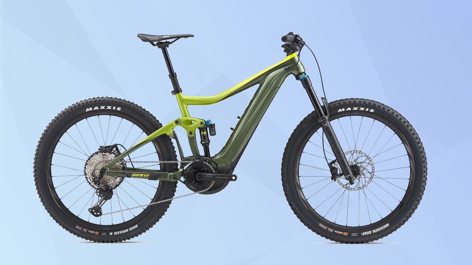 The best electric bikes: Giant Trance E + 1