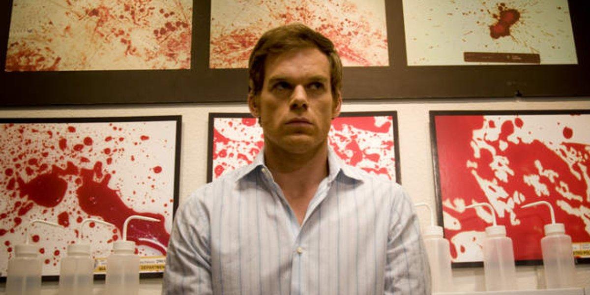 Michael C. Hall as Dexter on Dexter