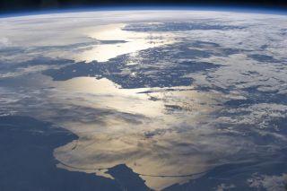Scandinavia Glows in Space Photo