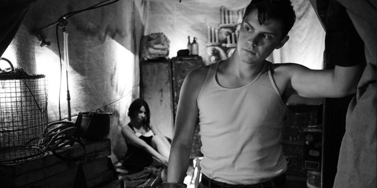 Evan Peters as Jimmy Darling in American Horror Story