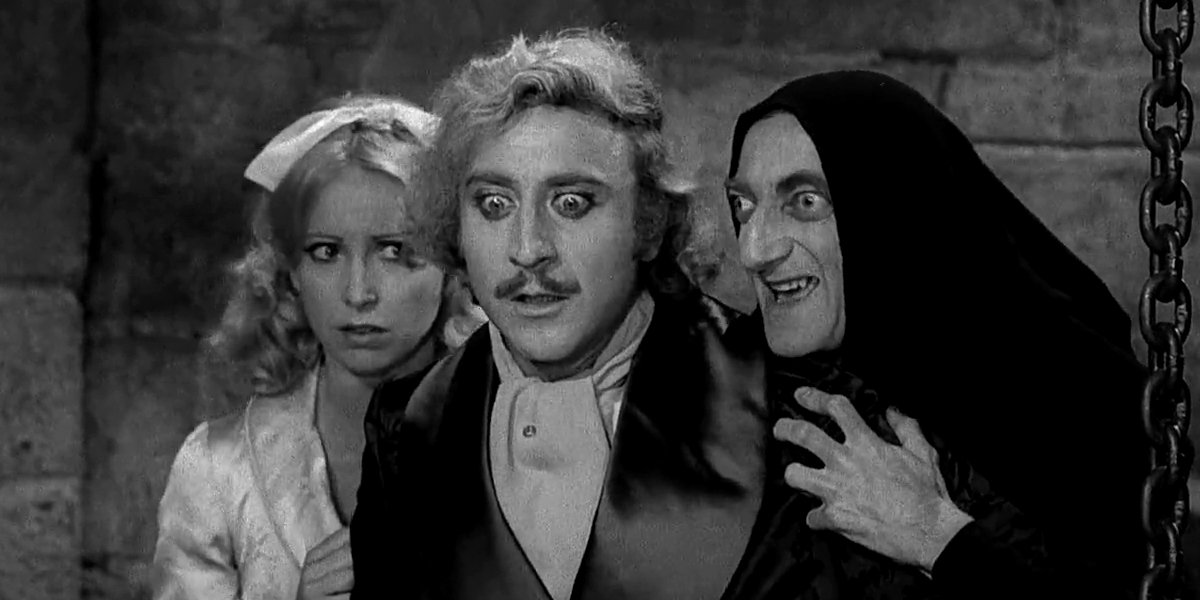 The Young Frankenstein cast