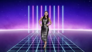 Davina McCall in a promotional shot for The Masked Singer