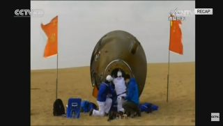 China's Shenzhou 11 Crew Lands