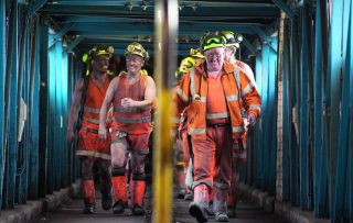 It's the end of an era for the miners of Kellingley